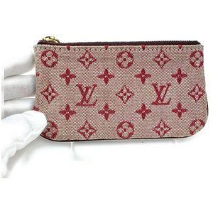 Louis Vuitton Monogram Mini Lin Pochette Cles Key